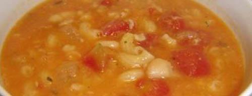 Rich Italian pasta soup