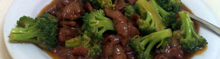 Stirfry beef with mushrooms and broccoli