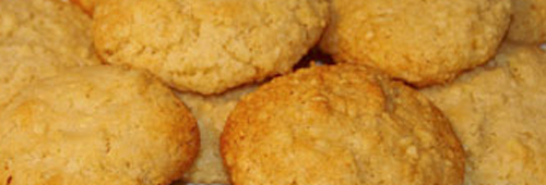 Italian amaretti biscuits