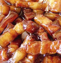 Sweet Thai pork morsels