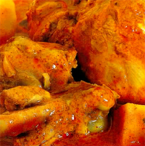Kerala country chicken