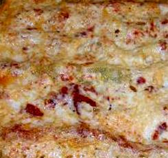 Mushroom and ricotta canneloni