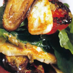 Grilled Haloumi Salad