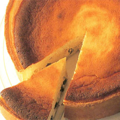 German baked cheesecake