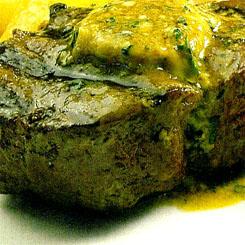 Blue cheese steak
