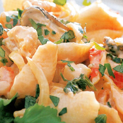 Seafood salad for the lazy cook