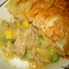 Easy Chicken pie in a pot