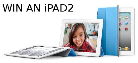 Win an iPad2 – Competition over