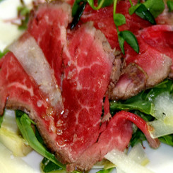 Seared Beef Carpaccio