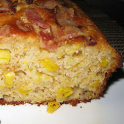 Buttermilk and bacon Cornbread