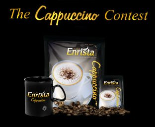 Cookbook & cafe Enrista Cappuccino giveaway – Competition closed