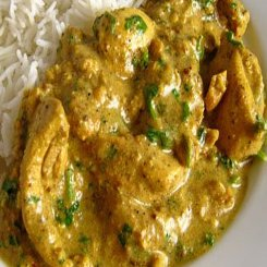 Chicken Coriander and Cashew nut curry