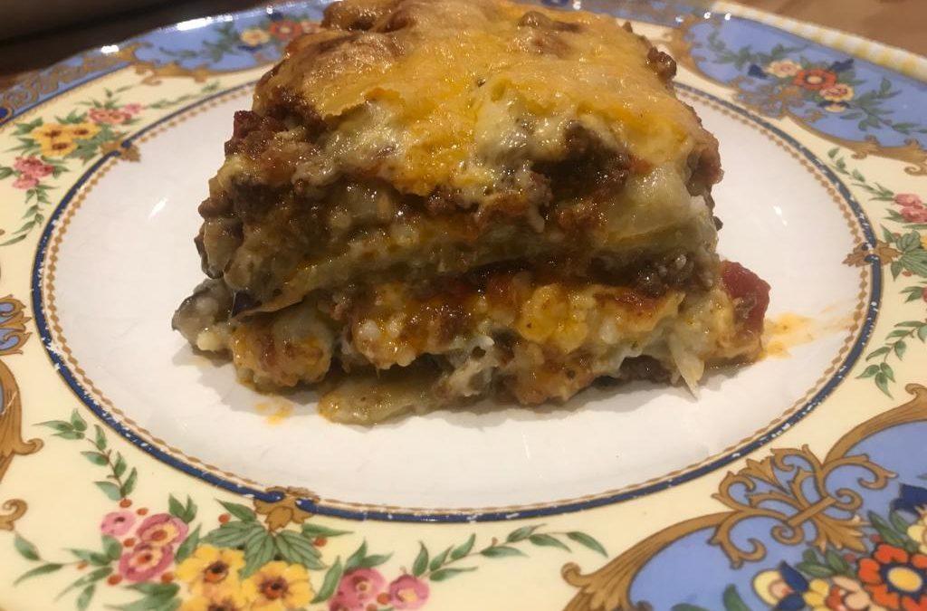 Keto Brinjal Lasagna