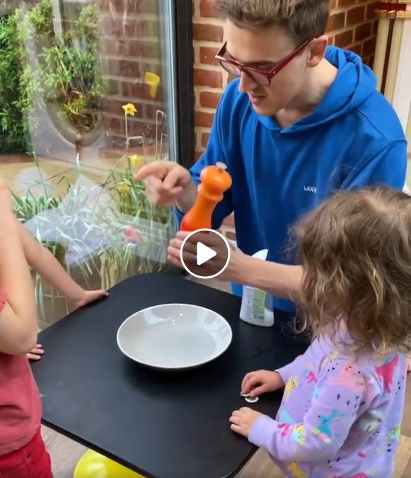 A Brilliant explanation for small children (Corona virus)